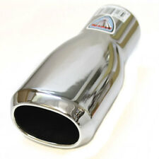 Chrome Exhaust Muffler Tip Sport Trim Tail Pipe For Mazda Rx-7 Mx-3 Rx-8 Mx-5