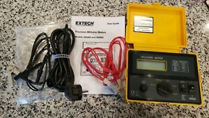 Extech 380462 Precision 220VAC Milliohm Meter - NICE, USED ONCE! FAST FREE SHIP!