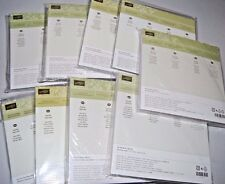 "Stampin' Up! Designer Series Paper Stack 6"" x 6"" Your Choice Print Color NIP"