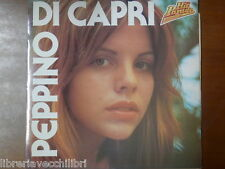 PEPPINO DI CAPRI HIT PARADE + Book Libricino Disco vinile 33 giri LP Malatia di