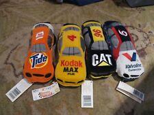 Set of 4 Nascar Beanie Racer Tide Kodak Cat Valvoline