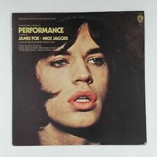 PERFORMANCE Soundtrack BS2554 LP Vinyl VG+ Cover VG+ Green WB Label MICK JAGGER