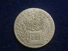 10 Kreuzer  Maria Theresien 1765 Graz  W/16/814