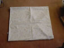 Christmas Table cloth 116x100 inches Unused Large Size Holly Motif Cream color