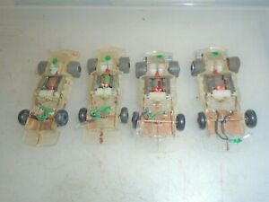 TYCO TCR SLOTLESS HO SCALE CHASSIS PARTS LOT (T)
