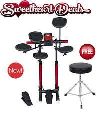 NEW 2016 Ddrum Beta D Lite Compact 4-Piece Electronic Drum Set Drum Kit w Throne