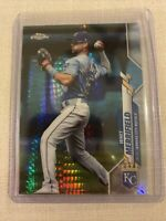 2020 Topps Chrome Prism Refractor Whit Merrifield Kansas City Royals #154