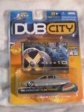 Jada Toys Dub City Die Cast '95 Cadillac Fleetwood Car Silver SEALED UNUSED