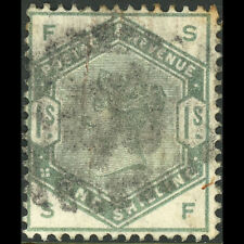 GREAT BRITAIN 1883 Dull Green. SG 196. Used. Good Colour. (AW527)