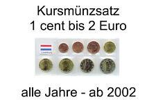 Kursmünzensatz LUXEMBURG (1 cent bis 2 Euro) lose ab 2002 - unc - frei wählbar