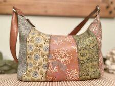 Vintage Fossil Handbag Floral Strip