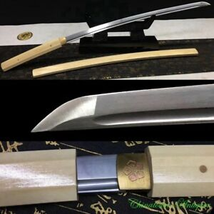 Japanese Battle Sword Katana High Manganese Steel Blade Full Tang Sharp #2251