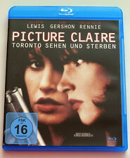 Picture Claire (2001) Blu-ray, Juliette Lewis, Gina Gershon, Krimi, gebraucht