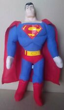 "Superman 17"" Plush Stuffed Doll with hard plastic head. Quick USA Shipping."