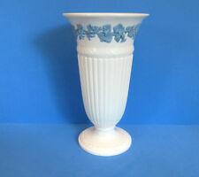 """Wedgwood Embossed Queensware 8 1/2"""" Vase, England"""