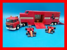MATCHBOX SUPERKINGS Iveco turbo ferrari  F1 Transporter vintage 1980