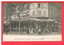CPA  -  PARIS  -  12 ième  -   RUE DE LYON -   CAFE  RESTAURANT GARNIER