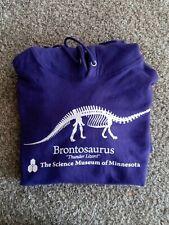 Brontosaurus purple hoodie