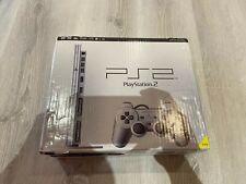 Original Sony PlayStation 2 Slim Konsole Silber in OVP