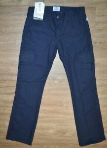 """NWT TYNDALE WOMENS FR FLAME RESISTANT NAVY BLUE CARGO PANTS Size 4 x 32"""""""