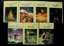 Lotto stock di 7 romanzi fantascienza La Tribuna Galassia / titoli in foto