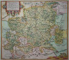Wirtenberg Ducatus - Abraham Ortelius - Herzogtum Württemberg - Original 1579