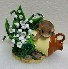Fitz Floyd Charming Tails Friends Are Always Within Reach Mouse 89/224 Gift