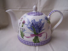 Teekanne aus Brilliantporzellan  * Lavendel *  ORIGINAL Jameson & Tailor