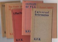 Manly Palmer Hall / Lecture Booklet Series No's 1-7 Rare 1939