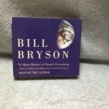"Bill Bryson "" A Short History of Nearly Everything "" 5 Compact Discs"