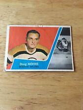 Topps Hockey 1963-64 Doug Mohns  Boston Bruins card # 3