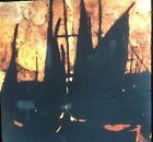"""Donald Sultan """"Harbor """" Modern Art 35mm Glass Slide"""