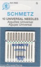 10 pk Schmetz Universal Machine Needles Sizes 70/10, Art. 1832