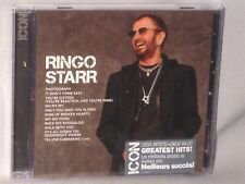 CD RINGO STARR ICON Greatest Hits (2014) NEW MINT SEALED
