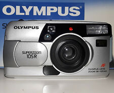 Olympus Superzoom 105R Quartz Date 35mm Camera Kit  (BRAND NEW!)
