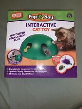 New listing Allstar Innovations Pop N? Play Interactive Motion Cat Toy, Includes: Electronic