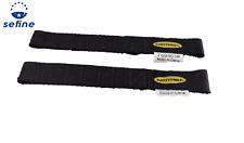Smittybilt 769401 Adjustable Door Straps for Jeep Wranglers - Pair - Black