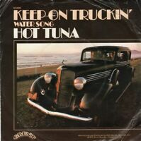 "HOT TUNA ~ Keep On Truckin' ~ Original 1972 UK 2-track 7"" vinyl single in p/slve"