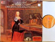 HARMONIA MUNDI (BASF) GERMANY JS Bach LEONHARDT AMELING LINDE 20 29024-7