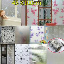 10 Styles of Waterproof Window Glass Frosted Film Self-adhesive Paper Decoration