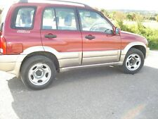 suzuki grand vitara 2000cc auto 2002 red.