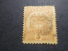COLOMBIE - COLOMBIA timbre CLASSIQUE 109, ARMOIRIES oblitéré