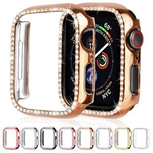 Diamond Bumper Protective Case for Apple Watch Cover Series 6 SE 5 4 3 2 1