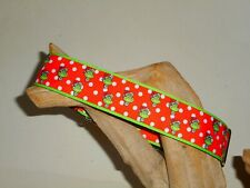 Christmas Grinch 1 1/2 Inch Custom Made Martingale Dog Collar