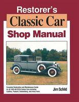 1925 1930 1935 1940 1945 1948 Cadillac Packard Service Manual Restoration Guide