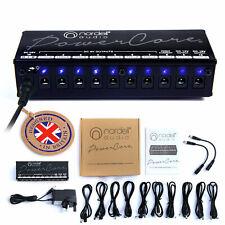 More details for guitar effect pedal board power supply brick bank uk isolated 9v 12v 18v output