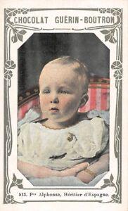 Chromo GUERIN BOUTRON Célébrités N°513