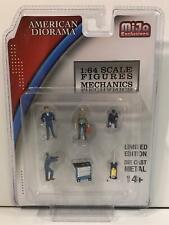 Mechanics Figures and Tools 1:64 Scale American Diorama 38400