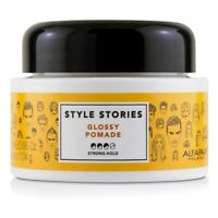 AlfaParf Style Stories Glossy Pomade (Strong Hold) 100ml Styling Hair Pomade