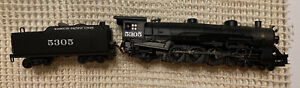 Bachmann Spectrum 4-8-2 Steam Loco Missouri Pacific 5305 #81656